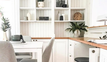 Period Home Office and Bookshelves
