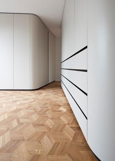 Modern Parkettböden by wiewiorra hopp schwark architekten