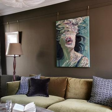 The Harrogate Coach House Cottage - Living Room