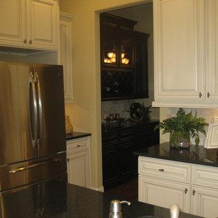 Example of a trendy home design design in Atlanta