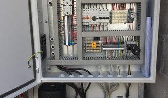 Pose thermostat et armoire électrique pour centrale traitement d'air