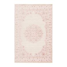 "Jaipur Living Malo Medallion Pink/White Area Rug, 5'x7'6"""