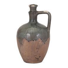 Imax 13324 Bardot Blue Clay Stone Small Ceramic Jug
