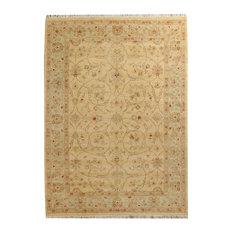 "ALRUG Handmade Beige/Tan Oriental  Ziegler Rug, 5' 7"" x 7' 7"""
