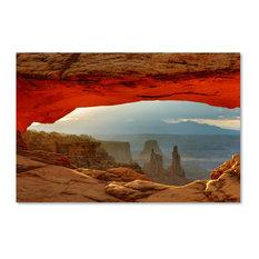Mike Jones Photo 'Canyonlands Mesa Arch' Canvas Art, 30x47
