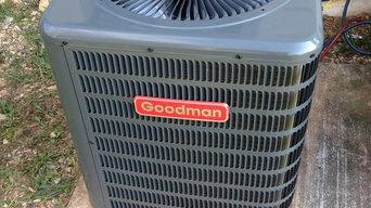 2 Ton Goodman HVAC Installation