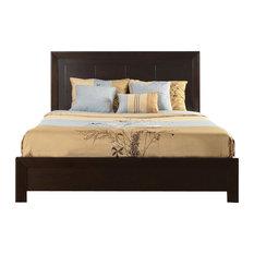 Modus Element Platform Bed in Chocolate Brown - King