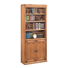 kathy ireland Home by Martin - Huntington Oxford Library Bookcase (Wheat) - Bookcases