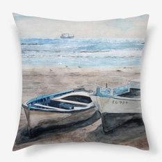 Декоративные подушки для интерьера в морском стиле