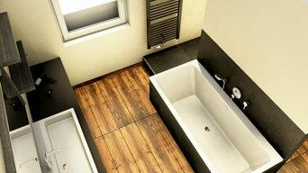 Badezimmer im Kurpark Bad Ems