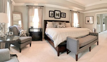 Media Traditional Master Bedroom