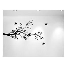 Innovative Stencils   Tree Branches And Love Birds, Vinyl Sticker, 56