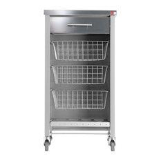 Hahn Chelsea Kitchen Trolley Grey