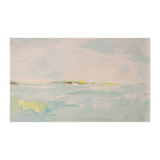 Pepe Spa Seascape Art, Canvas Print with Handpainting
