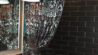 Тканевые шторы  для ванных комнат  Verona
