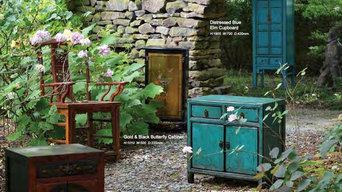 Oriental furniture in Teal and other gorgeous colours