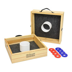 GoSports - Premium Birch Wood Washer Toss Game - Outdoor and Lawn Games