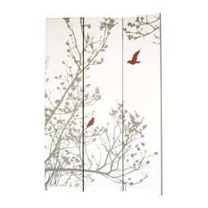 Bota Room Screen, Bird Design