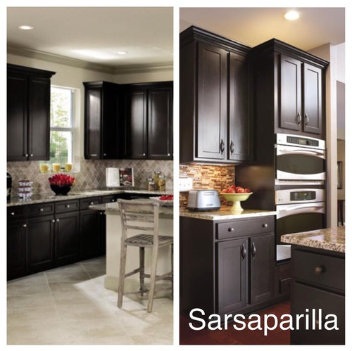 Please Help Choosing Kitchen Cabinets! on java glaze cabinets, wood stain for maple umber cabinets, java maple cabinets, beautiful kithen umber stained cabinets,