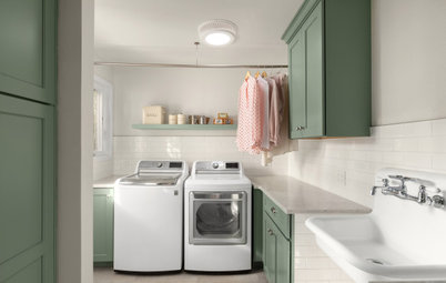 New This Week: 4 Fashionable Laundry Rooms
