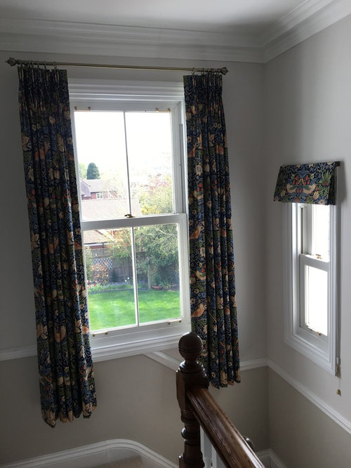 Traditional landing curtains and blinds - Products