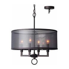 Woodbridge Lighting 15514 Jamison 4 Light Chandelier