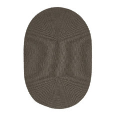 Colonial Mills, Inc - Boca Raton Rug, Gray, 10'x13' Oval - Outdoor Rugs