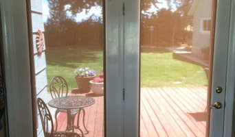 French Door Cordless Solar Shades by Insolroll