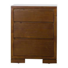 City Wood Bedside Table