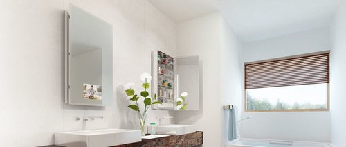 Fantastic Mosaic Bathrooms Design Tall Big Bathroom Wall Mirrors Shaped Bathroom Center Hillington Bathrooms With Showers And Tubs Old Moen Single Lever Bathroom Faucet Repair GreenWall Mounted Magnifying Bathroom Mirror With Lighted Medicine Cabinet Options From Electric Mirror