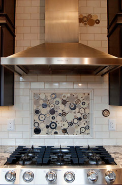 Etonnant The Size Is Determined By Size Of Your Tile So There Are Few Or No Cuts  That Destroy The Appearance Of The Accent Panel. However, Accent Tile Under  An Over ...