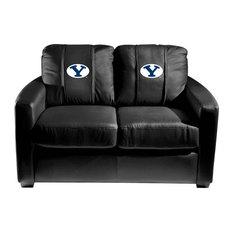 BYU Cougars Collegiate Silver Love Seat
