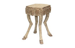 "Stag Leg Accent Table, 21""H"