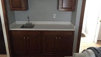 Wetbar Remodel - Granite, Wetbar Sink, Backsplash, Faucet