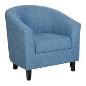 Neo Tub Chair, Blue