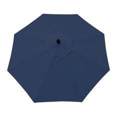 Umbrella with Windvent, 360 Rotation Shade Turn, Canvas Navy