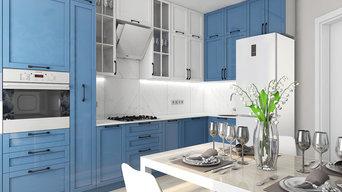 Интерьер трехкомнатной квартиры для молодой семьи