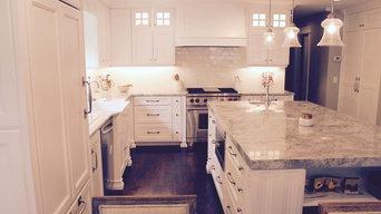 Victorian Dove Kitchen