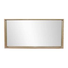 Alinéa - Harmonie Miroir de salle de bains 120cm - Miroir de Salle de Bain