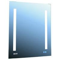 "Aquadom 24"" x 30"" left hinge Signature Royale 3D LED lights medicine cabinet"