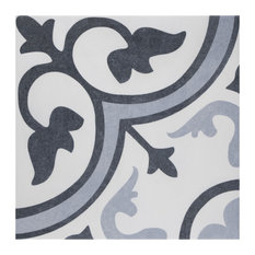 "13""x13"" Amberes Azul II Ceramic Floor/Wall Tiles"
