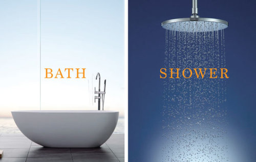 Are you more of a shower person or a bath person?