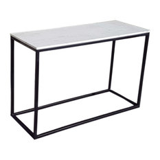 Reef Iron and Marble Console Table