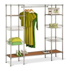 Honey Can Do - Free Standing Closet - Closet Organizers