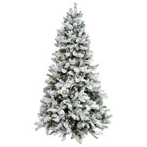 """Victoria Multi Function 1 Plug Tree 2463 Tips 700 Lights With Remote, 9.5'x62"""""""