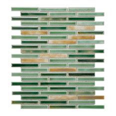 SomerTile Rustica Brick Porcelain Mosaic Floor/Wall Tile, Springfield