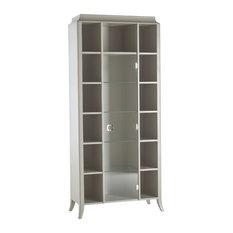 Open Bookcase With 1 Door