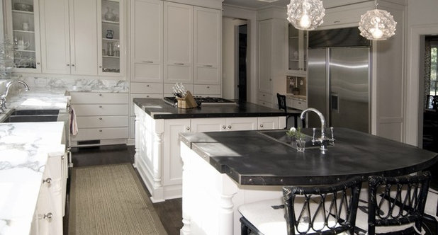 Kitchen Materials mix and match kitchen materials for a knockout design
