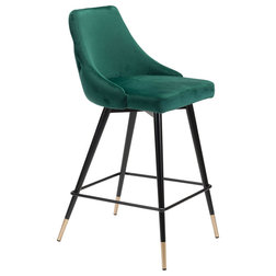 Midcentury Bar Stools And Counter Stools by Zuo Modern Contemporary