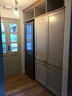 Profondità di un frigo freestanding rispetto ai pensili?